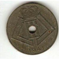 КОРОЛЕВСТВО БЕЛЬГИЯ. ФАШИЗМ. 10 САНТИМ 1941. (ФЛАМ.)