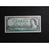 Канада, 1 доллар 1954 год #P75d