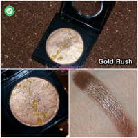 ТЕНИ для век Fashionista Double Take Baked Eyeshadow оттенок Gold Rush 4