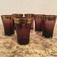 Стопки (набор стаканов 6 штук) Золотая Слива, СССР