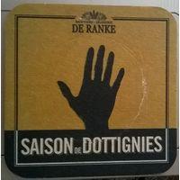 Saison de Dottignies подставка под пиво (Бельгия)