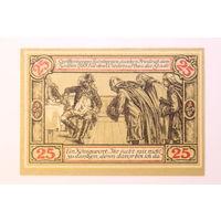 Германия (Notgeld), 25 пфеннигов 1921 год