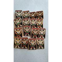 Цирк СССР значек, обезьяна цирк