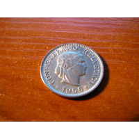 5 раппен швейцария 1955