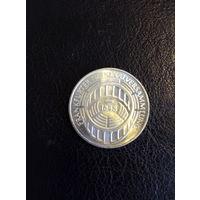 5 марок ФРГ  серебро 0,625 1973 года 41