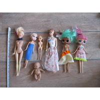 Куклы много б/у
