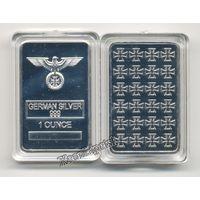 Слиток Серебро Германии German Silver 999