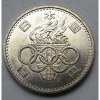 Япония, 100 йен, 1964, серебро