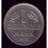 1 марка 1978 год G Германия