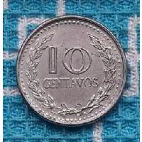 Сальвадор 10 центов 1978 года.