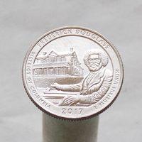 США 25 центов 2017 D Округ Колумбия - Национальное историческое место Фредерика Дугласа