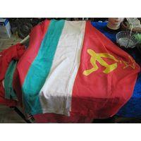Флаг Таджикской ССР 175х90 см.