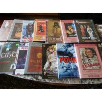 130 фильмов высокого качества на DVD дисках.