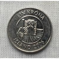 Исландия, 1 крона 2006