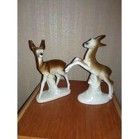 Статуэтки ГДР идеал олени оленята