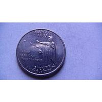 США 25 центов 2008г D  HAWAII  распродажа
