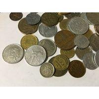 Сборный лот #1.7 - 51 монета, все разные, без СССР и СНГ