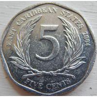 Карибы 5 центов