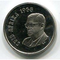 ЮЖНАЯ АФРИКА - 10 ЦЕНТОВ 1968 А