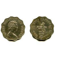 Гонконг 2 доллара 1975 состояние