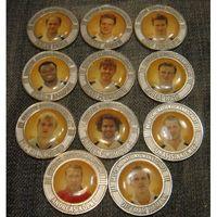 Жетоны футболисты сборной Германии 11 штук
