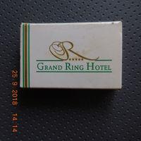 Спички отельные, Турция