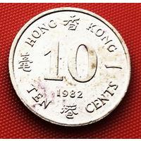 117-16 Гонконг, 10 центов 1982 г.