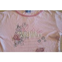Красивый розовый гольфик princesse Annabelle 6-7 лет
