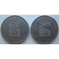 Венесуэла 50 сентимо 1989 г. Цена за 1 шт. (g)