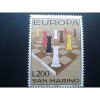 Сан-Марино 1965 Европа шахматы полная