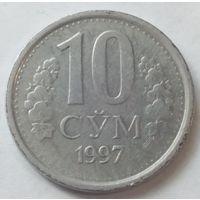 Узбекистан 10 сум 1997 года