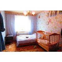 Просторная трехкомнатная квартира в Уручье