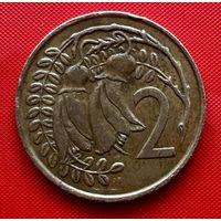 02-24 Новая Зеландия, 2 цента 1967 г.