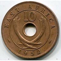 ВОСТОЧНАЯ АФРИКА - 10 ЦЕНТОВ 1952