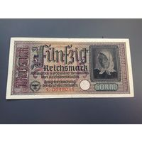 Германия 50 марок для оккупационных территорий.