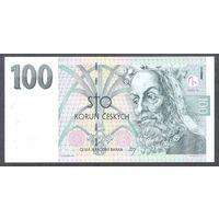 Чехия 100 крон 1997 г. Серия F