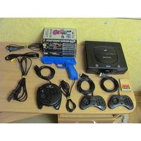 Sega Saturn PAL большой комплект