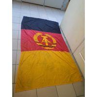 Большой(225*130 см) флаг ГДР