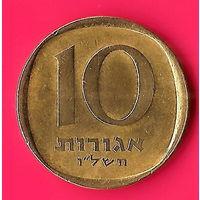 25-39 Израиль, 10 агорот 1974 г