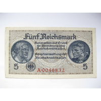 Немецкие оккупационные 5 марок