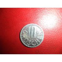 10 грошей 1989 Австрия алюминий
