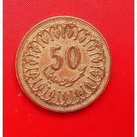 58-07 Тунис, 50 миллимов 1960 г.
