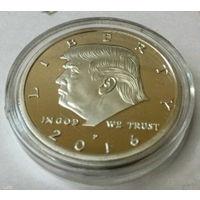 """Памятная монета президент """"Дональд Трамп"""""""