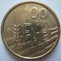 Испания 100 песет 1995 г. ФАО. Состояние (d)