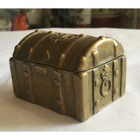 Шкатулка Ларец с Сокровищами (куфар), бронза