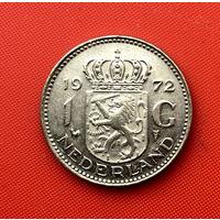 60-02 Нидерланды, 1 гульден 1972 г.