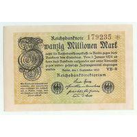 Германия, 20 миллионов марок 1923 год.