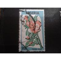 Нигерия 1986 цветы
