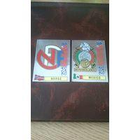 Эмблемы Panini FIFA94