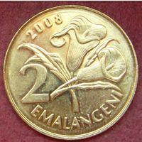 6488:  2 эмалангени 2008 Свазиленд